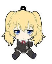 main photo of OniAi Petanko Trading Rubber Strap: Nasuhara Anastasia