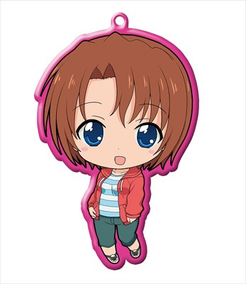 main photo of Golden Time Trading Metal Charm Strap: Hayashida Nana Ver. 1