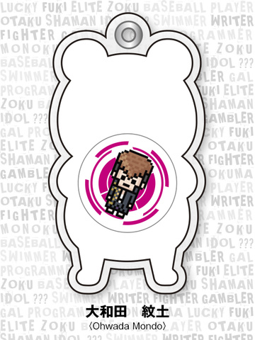 main photo of -es series nino- Danganronpa The Animation Gel Charm Collection Chapter 01: Oowada Mondo