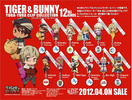 photo of Tiger & Bunny YuraYura Clip Collection: Kaburagi T. Kotetsu