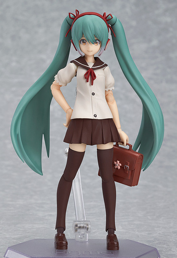 main photo of Good Smile Kuji Hatsune Miku 2014 Spring Ver.: figma Hatsune Miku Sailor Uniform Ver.
