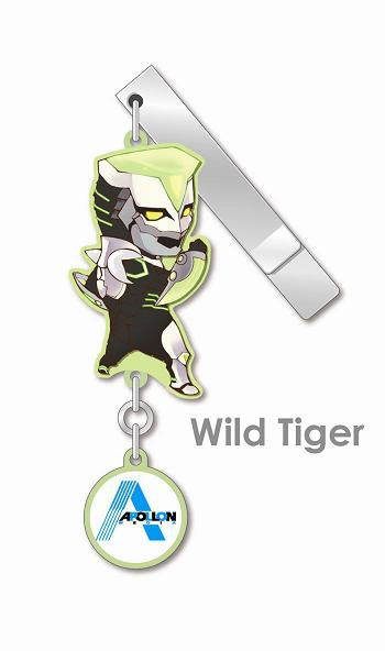 main photo of Tiger & Bunny YuraYura Clip Collection: Wild Tiger