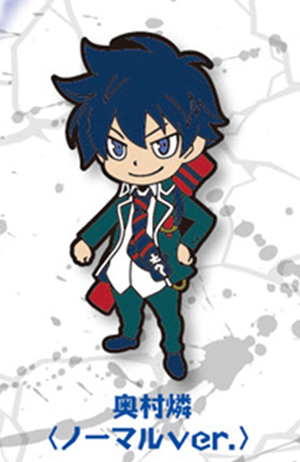 main photo of Ao no Exorcist Rubber Strap: Okumura Rin