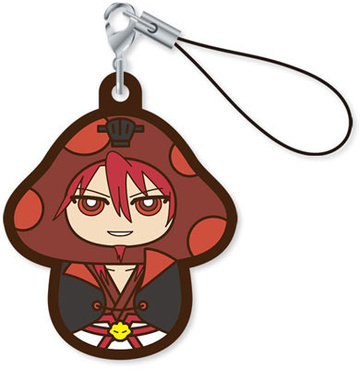 main photo of Charanoko Magi Rubber Strap: Ren Kouen
