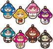 photo of Charanoko Magi Rubber Strap: Morgiana