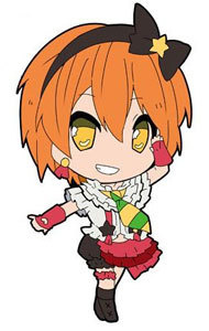 main photo of Love Live! Trading Rubber Strap: Hoshizora Rin