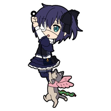 main photo of Pic-Lil! Chuunibyou demo Koi ga Shitai! Ren Trading Strap: Takanashi Rikka (Casual wear) & Chimera