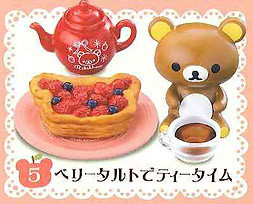 main photo of Rilakkuma Homemade Cooking: Berry Tart Tea Time