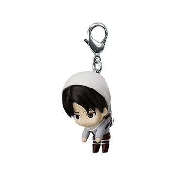 main photo of Shingeki no Kyojin Pinched & Linked Mascot: Levi Cleaning ver.