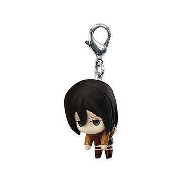 main photo of Shingeki no Kyojin Pinched & Linked Mascot: Mikasa Ackerman