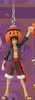 photo of One Piece Real Figure Keychain ~Halloween 2013~: Monkey D. Luffy