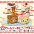 Rilakkuma Funwari Cake Shop: Roll Cake and Cup Sweets