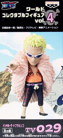 main photo of One Piece World Collectable Figure vol.4: Donquixote Doflamingo