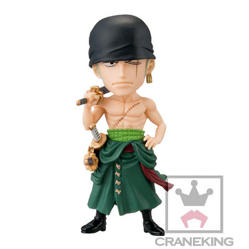 main photo of One Piece World Collectable Figure Vol.34: Roronoa Zoro