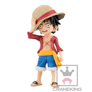 main photo of One Piece World Collectable Figure Vol.34: Monkey D. Luffy