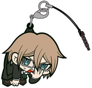 main photo of Danganronpa Tsumamare Pinched Strap: Togami Byakuya