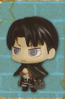 main photo of Deformed Mini Shingeki no Kyojin Chimi Chara Mascot 3: Levi