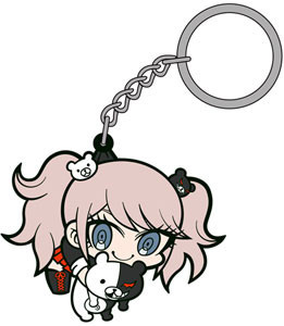 main photo of Danganronpa Tsumamare Key Rings: Enoshima Junko