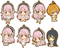 photo of SoniAni Rubber Strap Collection: Super Sonico Undressing ver.