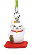 main photo of Nyanko-sensei Netsuke Strap Collection Part 3: Madara Maneki Ver.