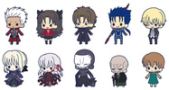 photo of es Series Rubber Strap Collection Fate/stay night chapter 2: Saber Alter