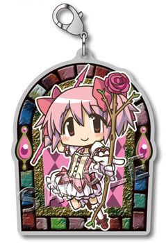 main photo of Mahou Shoujo Madoka Magica the Movie Metal Charm collection: Kaname Madoka