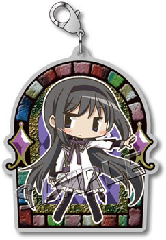 main photo of Mahou Shoujo Madoka Magica the Movie Metal Charm collection: Akemi Homura