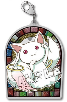 main photo of Mahou Shoujo Madoka Magica the Movie Metal Charm collection: Kyuubey