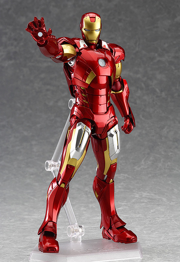 main photo of figma Iron Man Mark VII