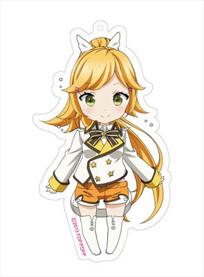 main photo of Fantasista Doll Deka Keychain: Sasara