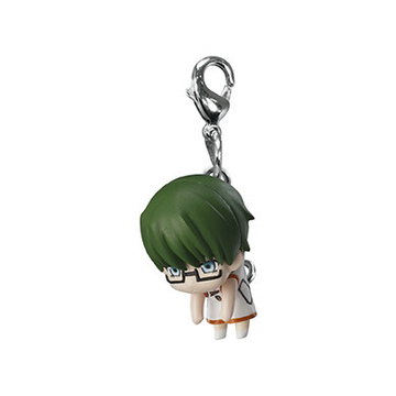 main photo of Kuroko no Basket Pinched Mascot: Midorima Shintarou Canican ver.