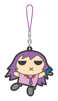 main photo of Bakemonogatari Rubber Strap: Senjougahara Hitagi