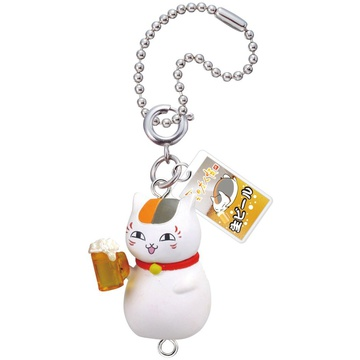 main photo of Nyanko-sensei Nonbee Yokocho Mascot: Nyanko-sensei Give Me Beer ver.