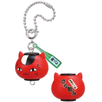 main photo of Nyanko-sensei Nonbee Yokocho Mascot: Nyanko-sensei Drinking Place Red Lantern ver.