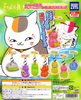photo of Nyanko-sensei Power Stone Strap: Nyanko-sensei Butterflies ver.