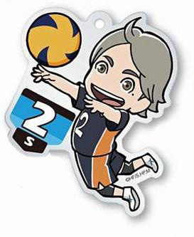 main photo of Haikyuu!! Acrylic Keychain: Koushi Sugawara