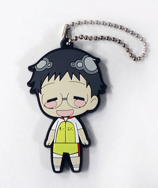 main photo of Yowamushi Pedal Rubber Keychain Collection Vol.1: Onoda Sakamichi Smiling Ver.