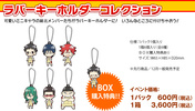 photo of Yowamushi Pedal Rubber Keychain Collection Vol.1: Makishima Yuusuke