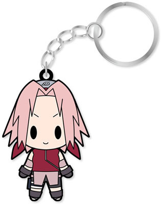 main photo of D4 NARUTO Shippuden Rubber Keychain Collection Vol.1: Haruno Sakura