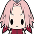 D4 NARUTO Shippuden Rubber Keychain Collection Vol.1: Haruno Sakura