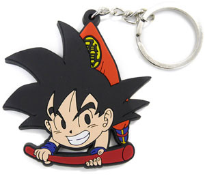 main photo of Dragon Ball Z Kai Tsumamare Pinched Key Ring: Goku