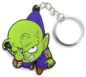 main photo of Dragon Ball Z Kai Tsumamare Pinched Key Ring: Piccolo