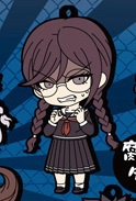 main photo of Dangan Ronpa The Animation Rubber Strap Vol. 2: Touko Fukawa