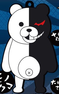 main photo of Dangan Ronpa The Animation Rubber Strap Vol. 2: Monokuma