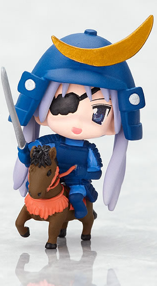 main photo of Nendoroid PLUS: Lucky Star Cosplay Charm Series 2: Hiiragi Kagami Touhoku Ver.