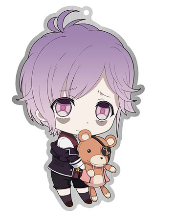 main photo of Diabolik Lovers Trading Metal Charm Strap: Sakamaki Kanato
