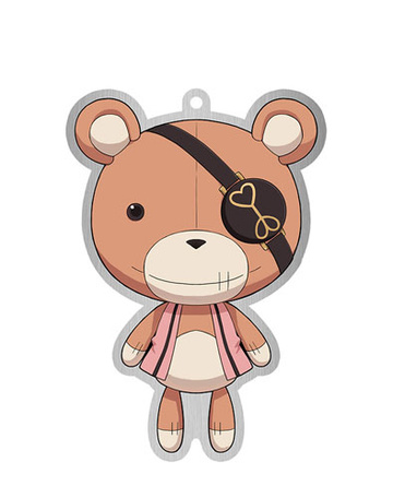 main photo of Diabolik Lovers Trading Metal Charm Strap: Teddy