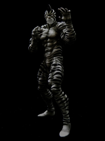 main photo of CCP Muscular Collection Vol.EX: Kinnikuman Zebra Zangyaku Original Color Ver.