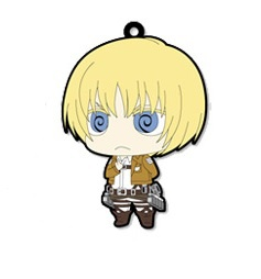 main photo of Attack on Titan Trading Rubber Strap: Armin Arlelt