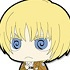 Attack on Titan Trading Rubber Strap: Armin Arlelt